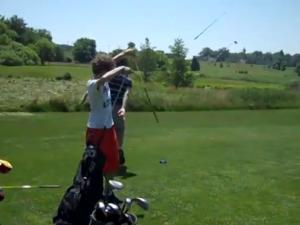golf tantrum